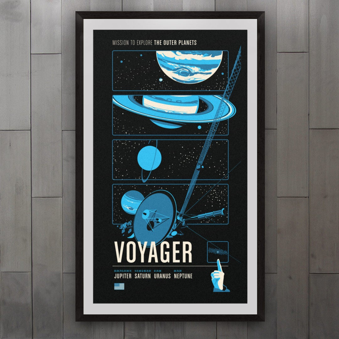 Voyager from the Historic Robotic Spacecraft Series