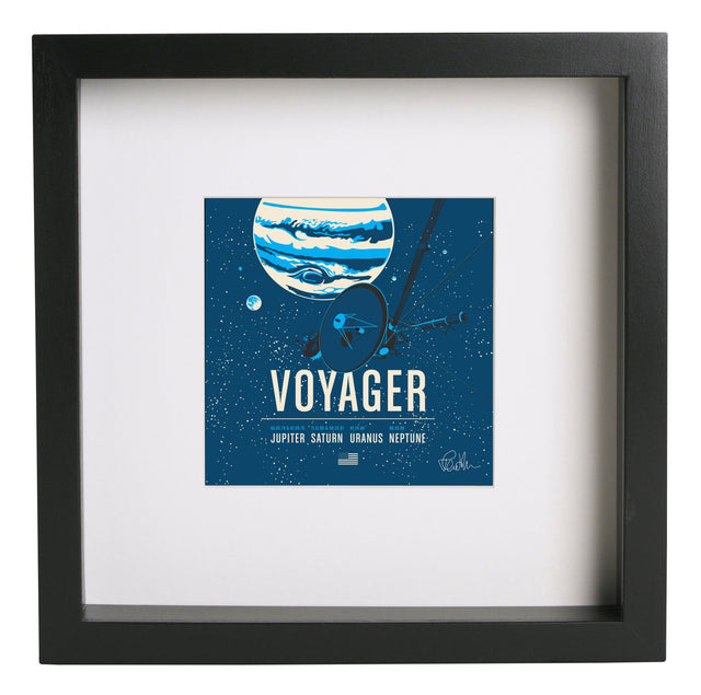 Voyager Square Print