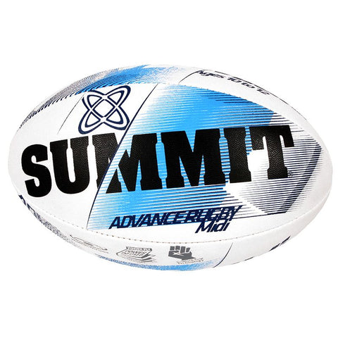 Summit Advance Blue Rugby Ball