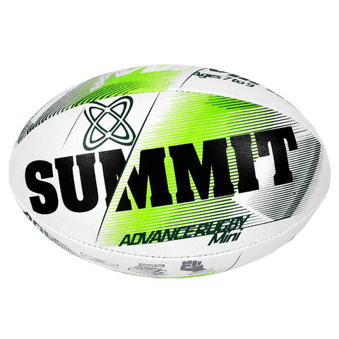 Summit Advance Green Rugby Ball