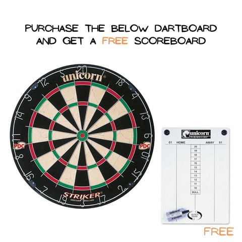 Unicorn Striker Dart Board