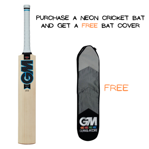 GM Neon Cricket Bat