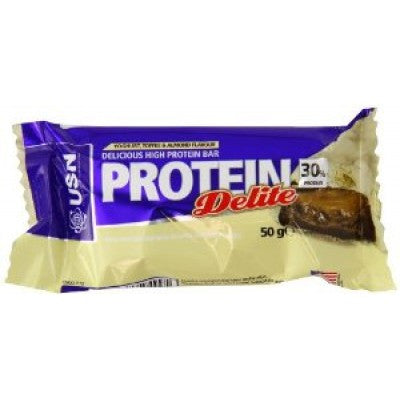 protein delite yoghurt toffee and almond