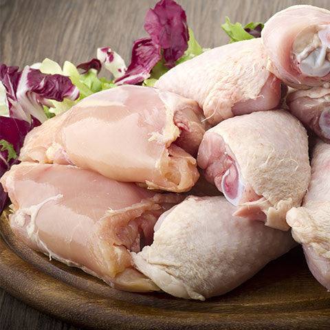 boneless and skinless chicken thighs