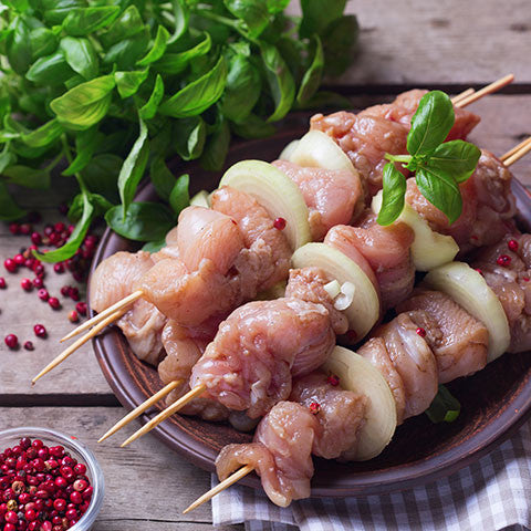 chicken breast kebabs