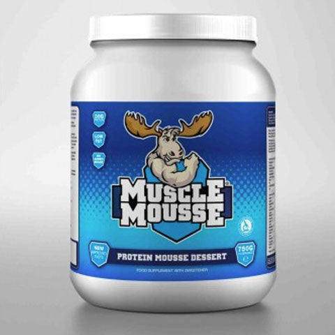 milk chocolate muscle mousse
