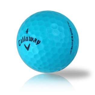 Callaway Supersoft Teal Used Golf Balls