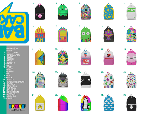 Babycakes Backpacks!