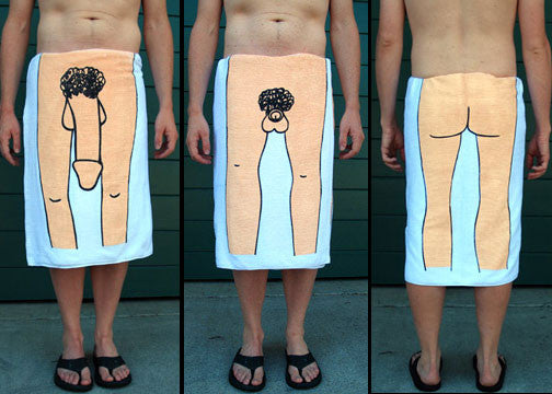 Black Dick Towel