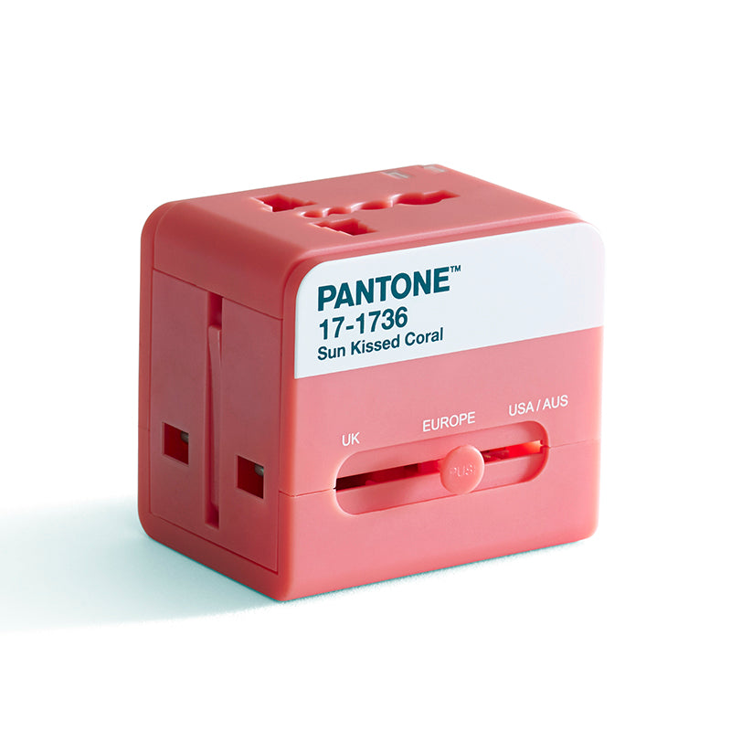 GOGO PANTONE TRAVEL ADAPTOR