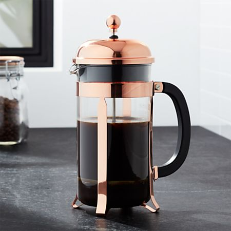 Copper Coffee Plunger