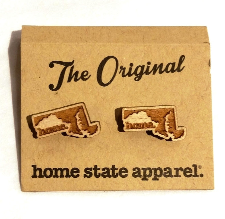 Home State Apparel® - State Shape Post Earrings