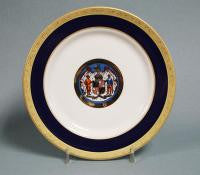 China Plate - Maryland Seal, 10""