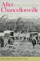 After Chancellorsville: Letters from the Heart