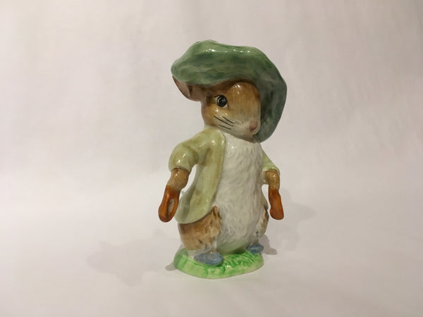 Beatrix Potter Porcelain Rabbit Figurine