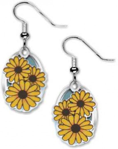 Black-Eyed Susan Earrings