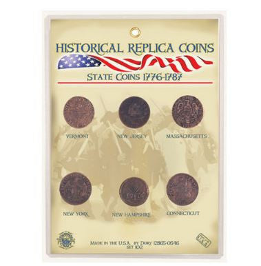 Replica Coin Set - State Coins 1776-1787