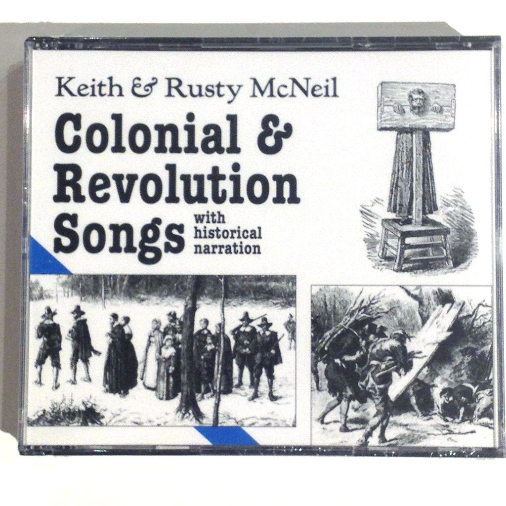 Colonial & Revolution Songs - 2 CD Set