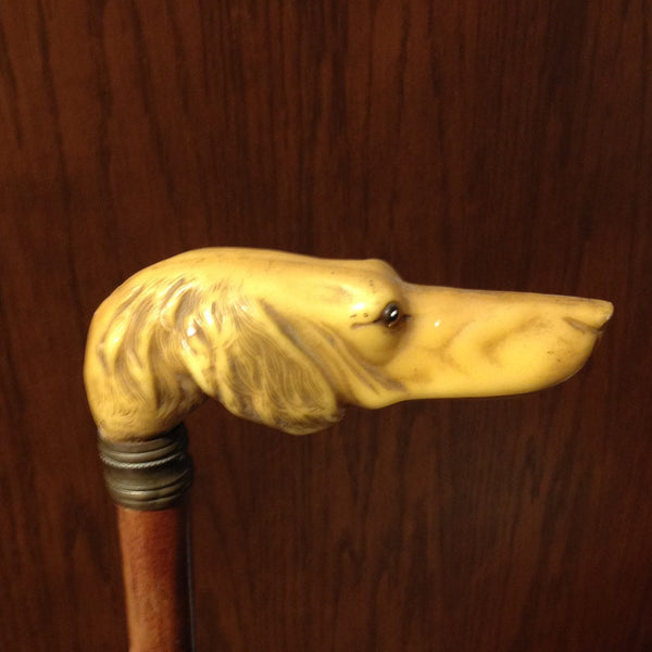 Dog's Head Walking Stick