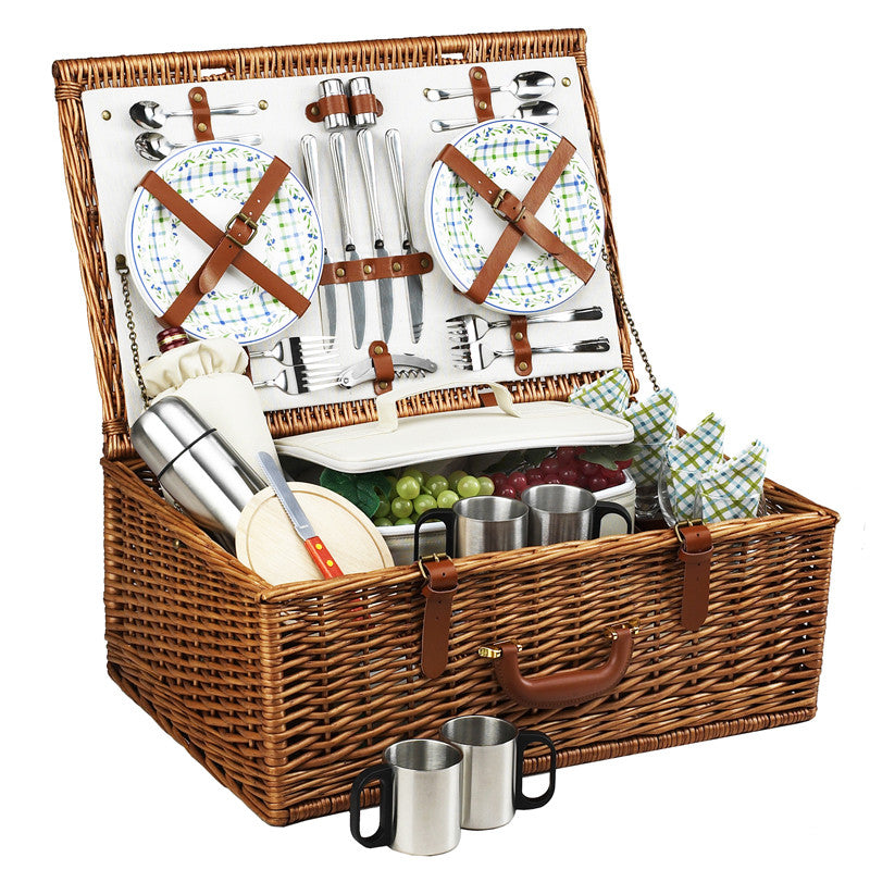 Dorset Basket for Four with Coffee Service, Gazebo
