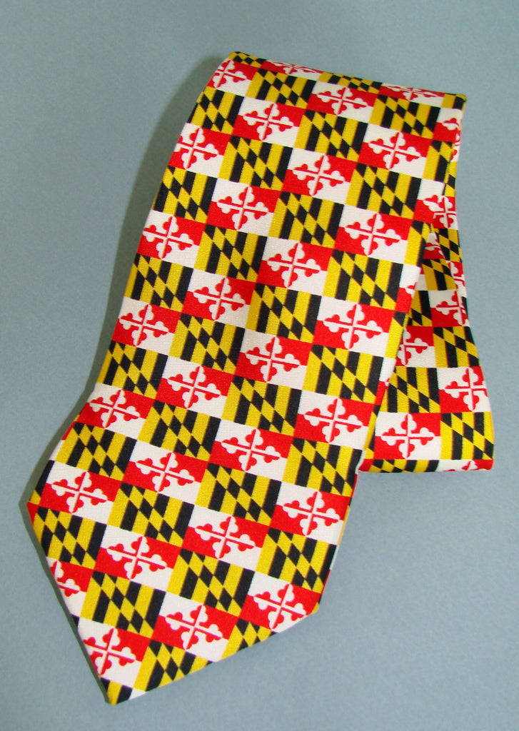 Maryland Flag Tie, Classic