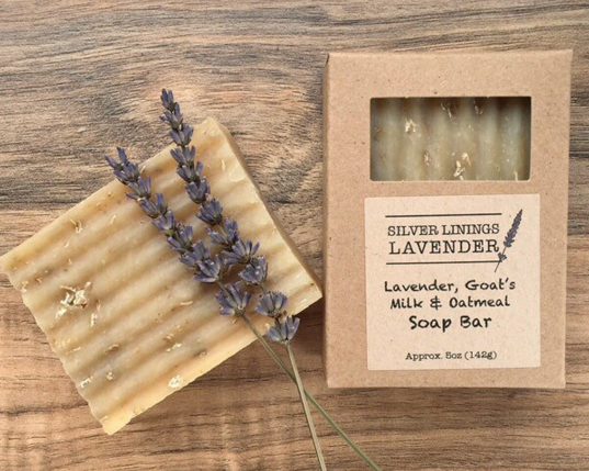 Lavender Soap Bar w/ Goat's Milk & Oatmeal