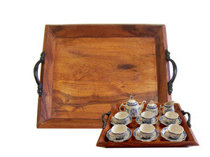 Wooden Tea Tray, Assorted Sizes