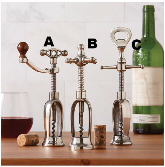 Antiqued Corkscrew, Assorted