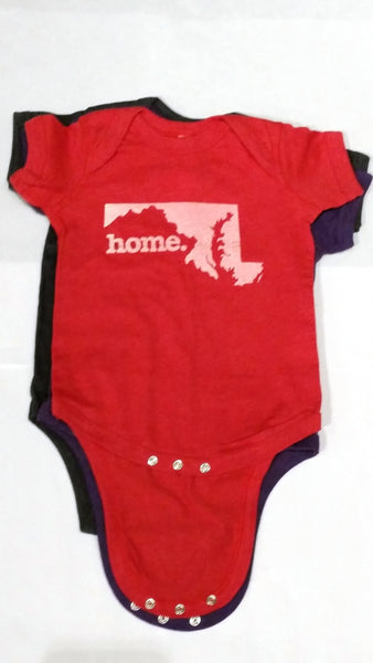 Home State Apparel® - MD Home Baby Bodysuit, Assorted