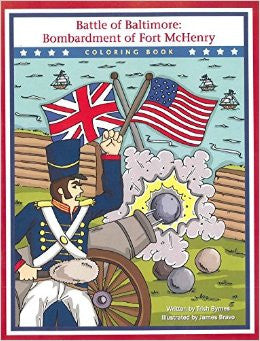 Battle of Baltimore Coloring Book
