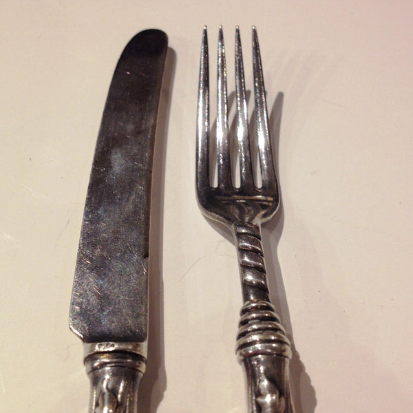 Child's Knife and Fork Set