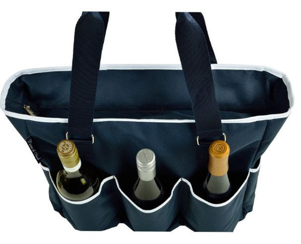 Extra Large Insulated Cooler Tote, Navy