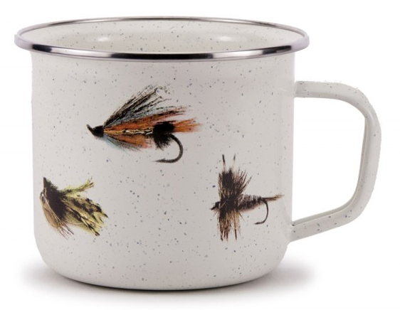 Fishing Fly Soup Mug