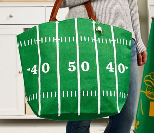Football Tote Bag, Assorted