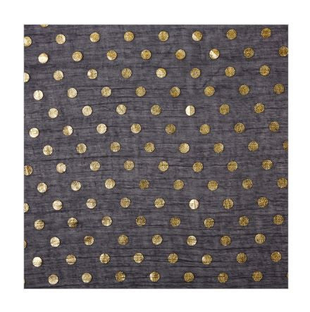 Gold Dot Scarf, Assorted