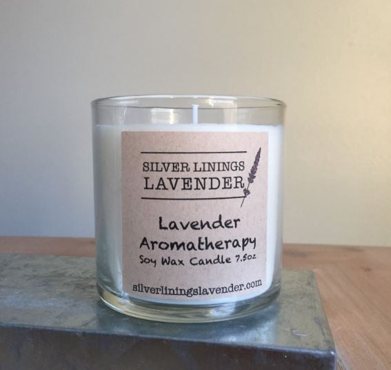 Lavender & Heirloom Roses Candle
