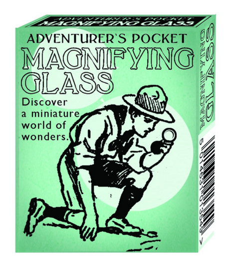 Adventurer's Pocket Magnifying Glass