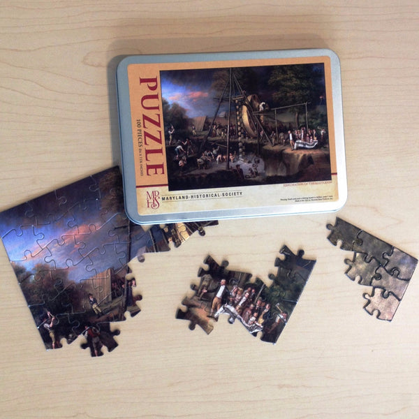 "100 Pc Puzzle - ""Exhumation of the Mastodon"""