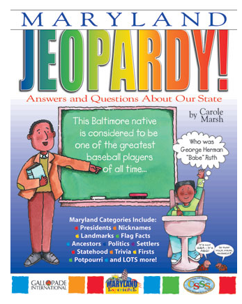 Maryland Jeopardy Kids' Book