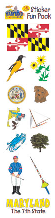 Maryland Sticker Fun Pack