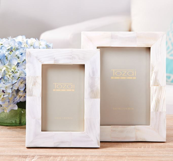 Mother of Pearl Photo Frame, Assorted