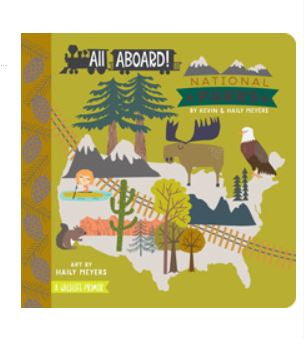 All Aboard! National Parks: A Wildlife Primer (Board Book)