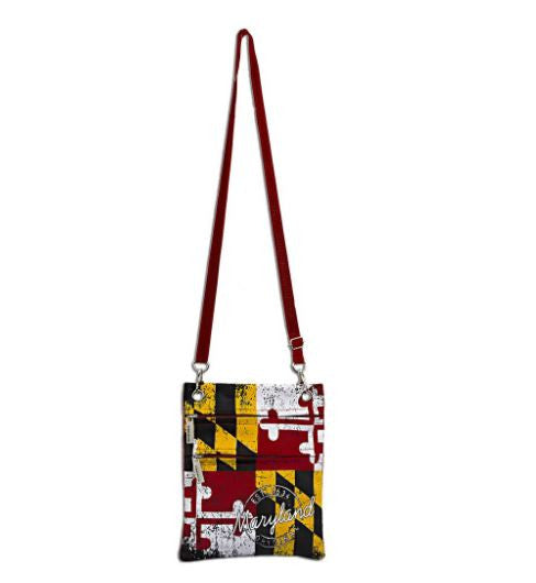 Robin Ruth Bag - Maryland Flag Travel Purse