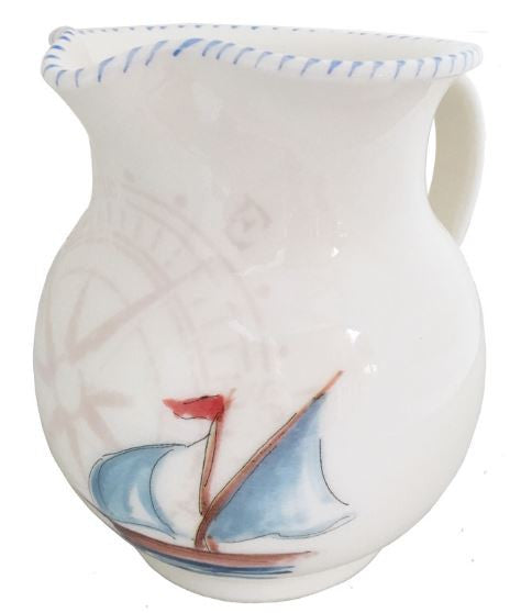 Sailboat Pitcher, Small