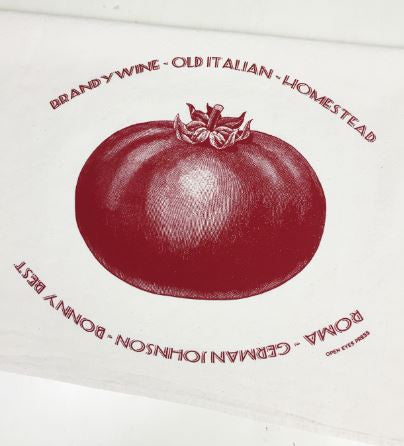 Heirloom Tomato Tea Towel