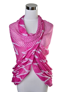 Zig Zag Scarf, Assorted Colors