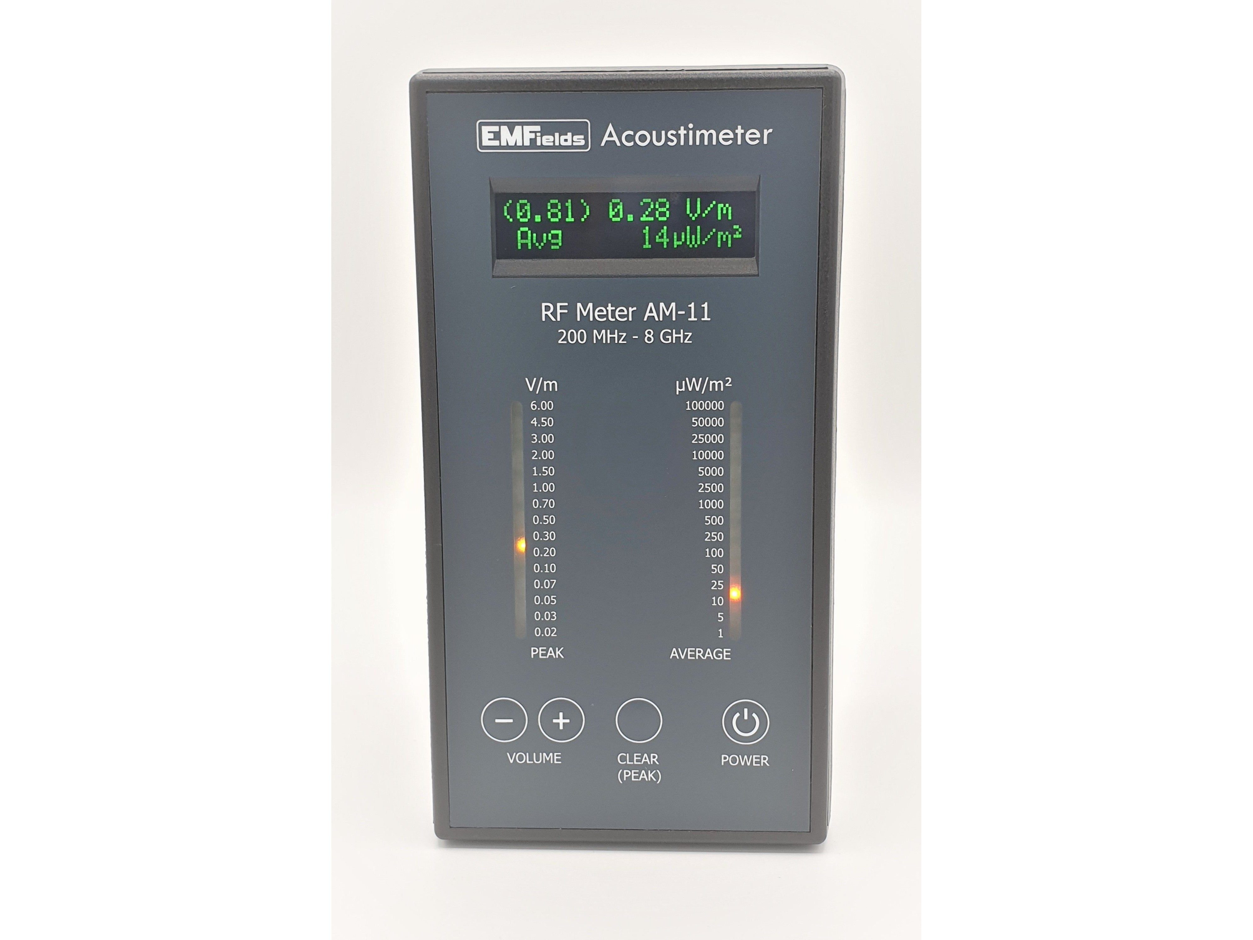 Wireless Radiation Detector- New Acoustimeter AM-11 (UK made, 2 yrs International warranty)