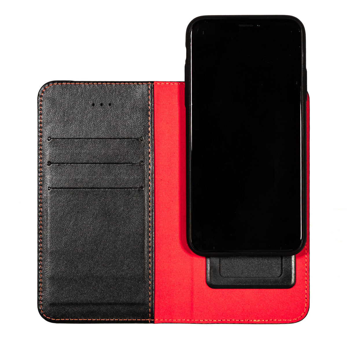 Red Mobile Phone Radiation & Credit Card Information Theft Protection Case (87% less radiation)