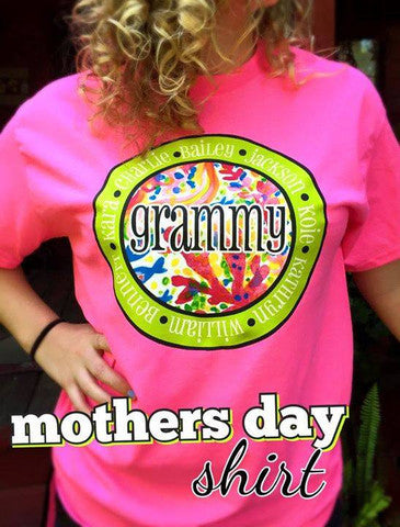 Mother's Day T-Shirt: Azalea
