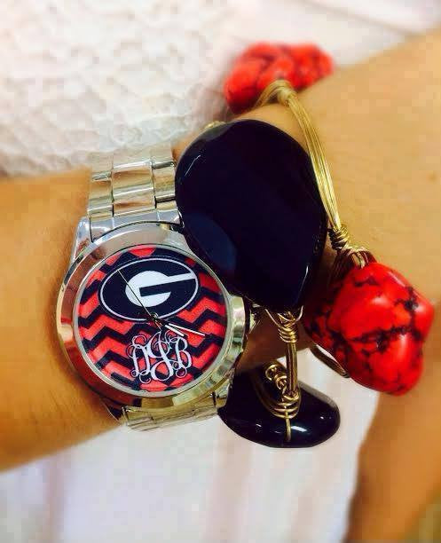 Collegiate Watch: UGA Logo Red & Black